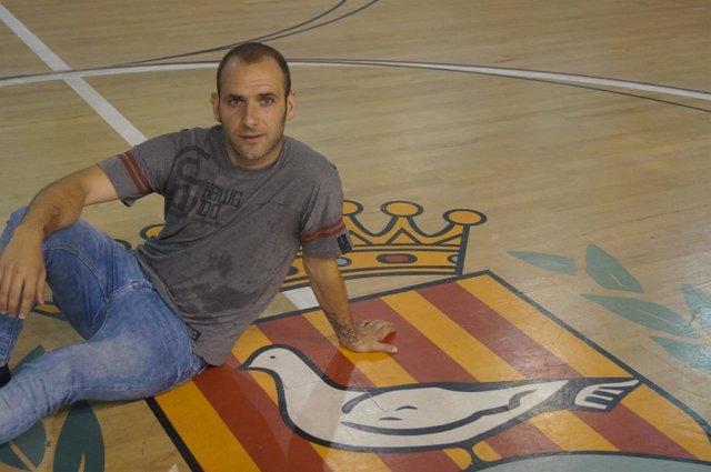 Dani Salgado, jugador del Catgas Energia Santa Coloma de fútbol sala