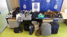 Policía Nacional detiene a siete personas en Logroño como responsables de varios hurtos en establecimientos comerciales