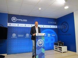 """El PP reclama a Vara que pida """"perdón"""" y asuma la """"responsabilidad política"""" por el """"grave caso de corrupción"""" de Feval"""