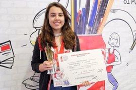 Belén Pérez Bueno, de un colegio de Albacete, gana el Concurso Coca-Cola Jóvenes Talentos de Relato Corto en C-LM