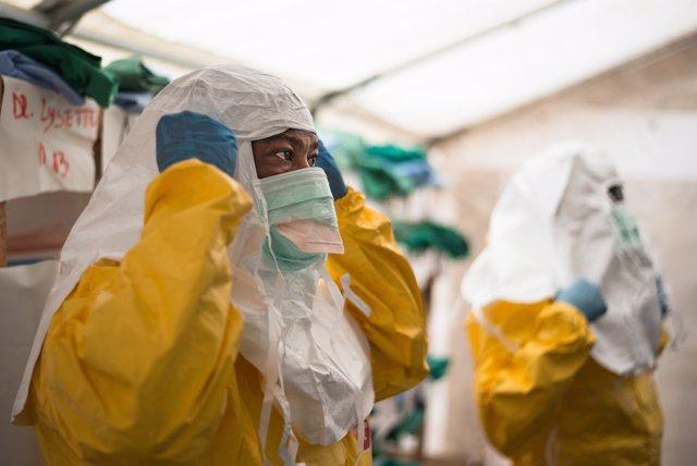 Centre de tractament contra l'Ebola de MSF a Ecuador (RDC)