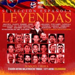 Selección española de Leyendas