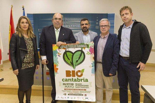 Presentación de la Feria de Productos Ecológicos 'BioCantabria'