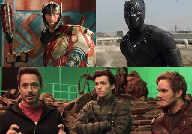 Thor: Ragnarok, Black Panther, Vengadores: Infinity War