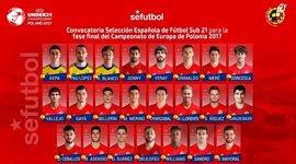 Carlos Soler, gran novedad de la Sub-21 para el Europeo