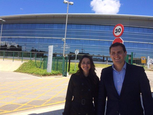 Inés Arrimadas y Albert Rivera, Cs