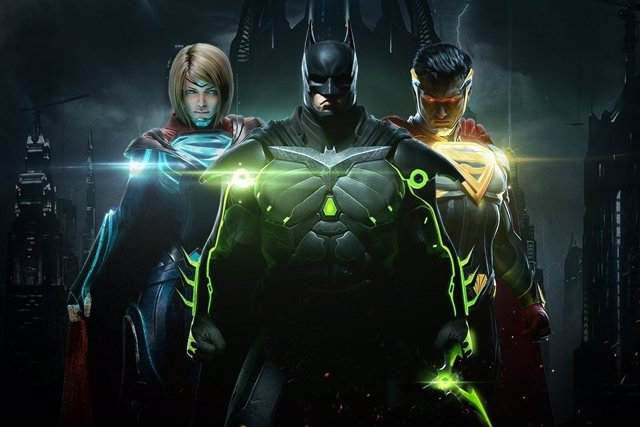 Injustice 2 videojuego juego DC comics superhéroes batman superman lucha