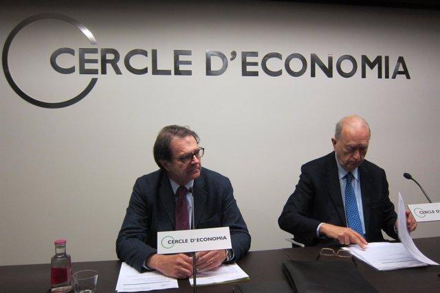 Jordi Alberich y Juan José Brugera (Círculo de Economía)