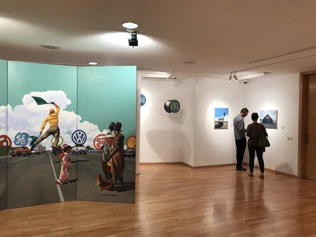 Angel mateo charris exposición MVA Málaga diputación Cultural arte
