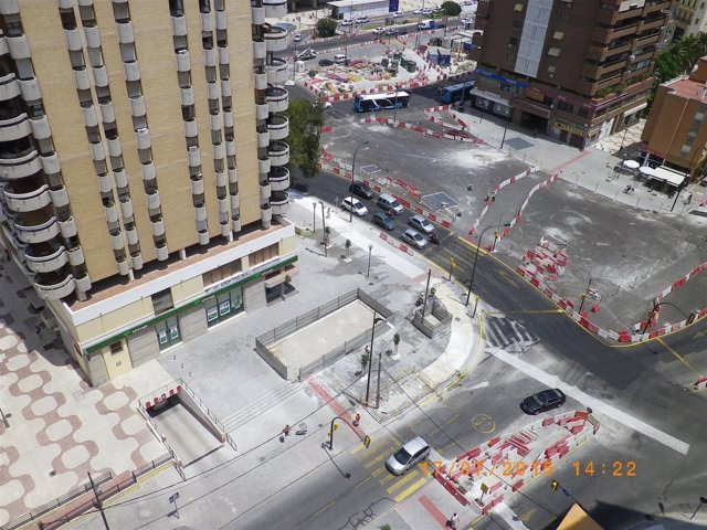 Metro tramo renfe-guadalmedina málaga proyecto junta