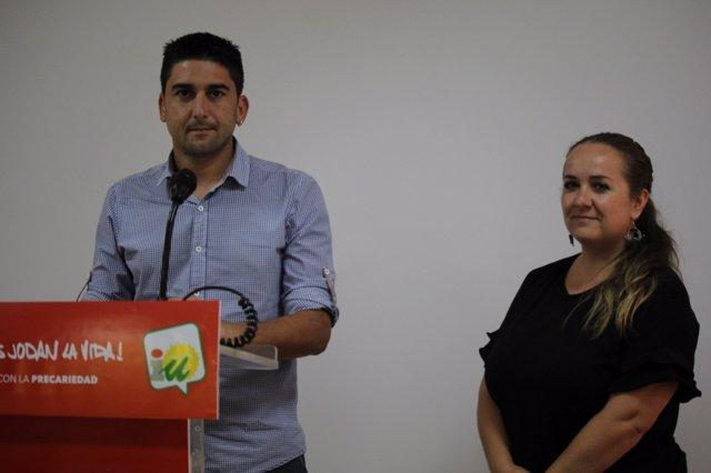 El responsable de Acción Política de IULV-CA, Ismael Sánchez