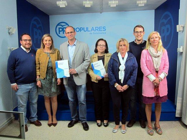 Presentación de las ponencias del PP de Salamanca
