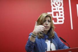 """Susana Díaz: """"A Pablo Iglesias le encantaría votar en las primarias del PSOE"""""""