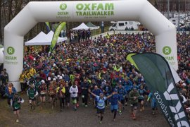 Más de 120 equipos participan este fin de semana en el Oxfam Intermón Trailwalker de Vitoria