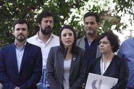 Podemos no menciona en su moción de censura el referéndum catalán que exige ERC para apoyarla