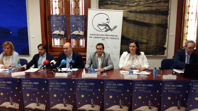 Presentación de la Feria del Libro de Huesca