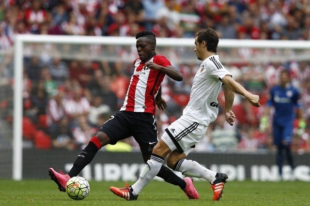 Iñaki Williams, delantero del Athletic Club