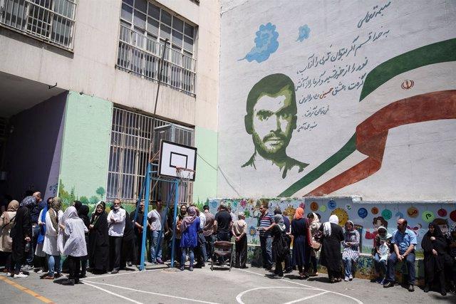 Votación presidencial en Irán - 2017