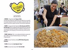 La Plaza del Ayuntamiento se convierte el domingo en un sequero de arroz y una cocina para degustar recetas