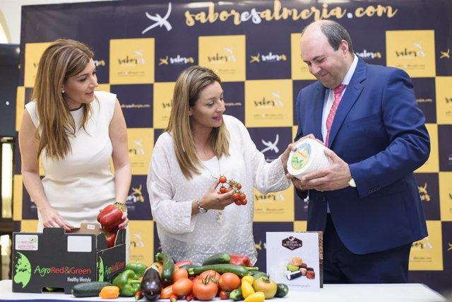 Los productos de 'Sabores Almería' pondrán el sabor a la cata maridaje.
