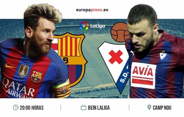 Horario y dónde ver el Barcelona - Eibar | 38ª jornada Liga Santander 2017