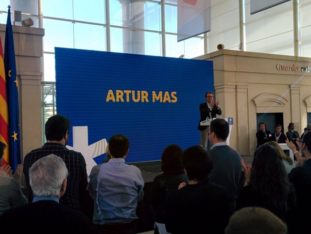 El expresdente de la Generalitat Artur Mas