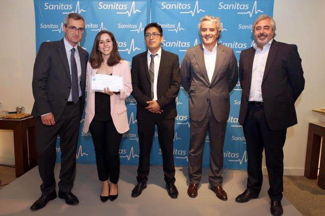 Sanitas_Izda a dcha__Jesús Bonilla_Dra Ana Salado_Dr Jorge Lévano_Iñaki Ereño_Jo