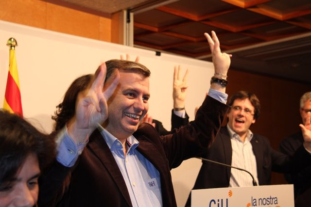 El Candidato De Ciu Por Girona, Jordi Xuclà