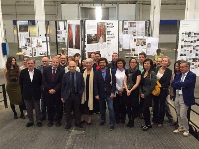 El concejal Daniel Mòdol en la presentación de la Semana de la Arquitectura