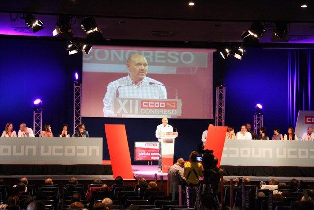 Manuel Pina, nuevo secretario general de Comisiones Obreras.