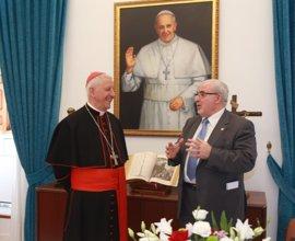 """Versaldi: """"El desarrollo de la UCAM permite a los estudiantes realizar sus carreras a la luz de su identidad católica"""""""