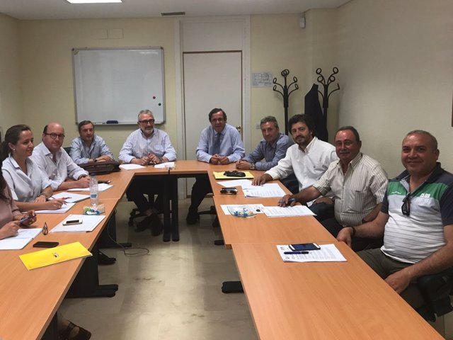 Reunión negociadora del convenio del campo de Córdoba