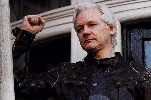Julian Assange, 19 de mayo de 2017