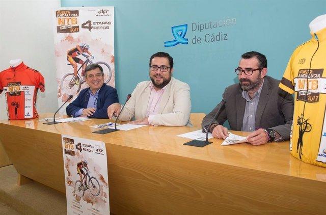 La presentación de la última etapa de la Vuelta Andalucía MTB