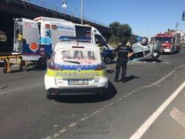Fallece una mujer en un accidente de tráfico en Parque Alcosa (Sevilla)