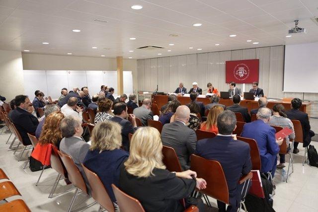 El Icab acoge el pleno ordinario del Consejo General de la Abogacía Española