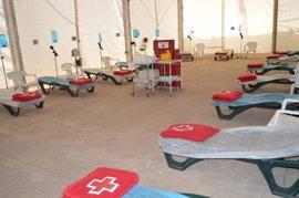 Un centenar de personas y seis ambulancias conforman el dispositivo de Cruz Roja para la Feria de Córdoba