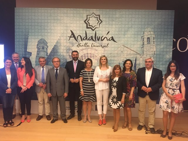Presentación del nuevo proyecto 'Andalucía, Huella Universal'