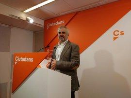 """Cs cree que Puigdemont debería ir al Congreso y """"aceptar"""" el resultado del debate"""