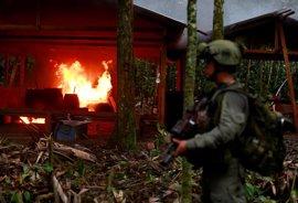 """La Policía de Colombia admite que el Clan del Golfo """"tiene capacidad para hacer daño"""""""