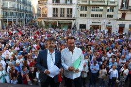 Centenares de personas apoyan el proyecto de Antonio Banderas para el Astoria
