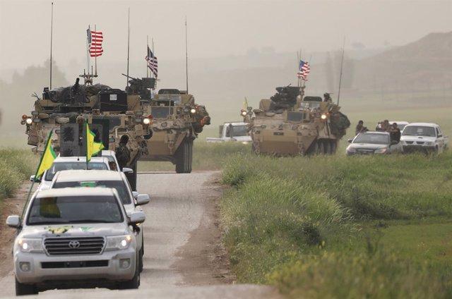 Fuerzas de Estados Unidos y las YPG