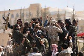 Los huthis aseguran que han lanzado un misil balístico hacia Riad