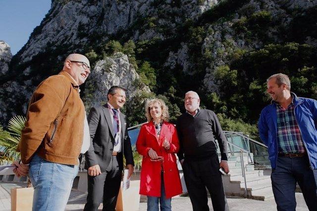 Tezanos y Ruiz en Peñarrubia