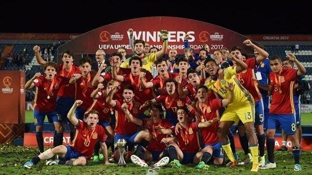 La selección española sub-17 alcanza el Campeonato de Europa