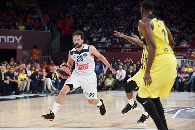 El base del Real Madrid Sergio Llull