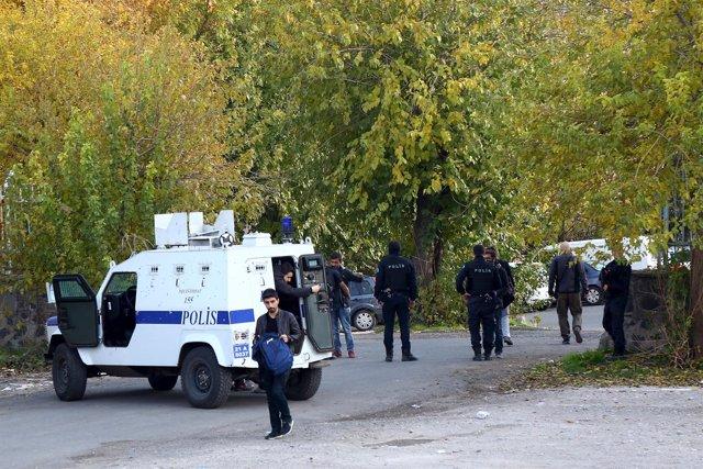 Policía en Turquía