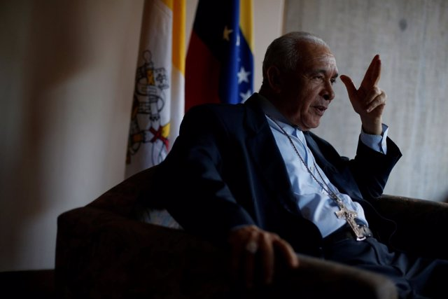 Presidente de la Conferencia Episcopal de Venezuela, Diego Padron