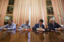 El Ayuntamiento y el Colegio de Farmacéuticos de Sevilla acuerdan aunar esfuerzos para promocionar la salud