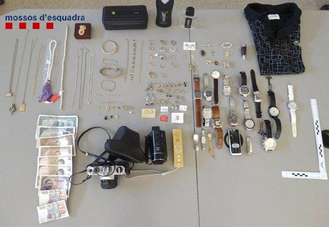 Botín en un robo en un domicilio en Figueres (Girona)